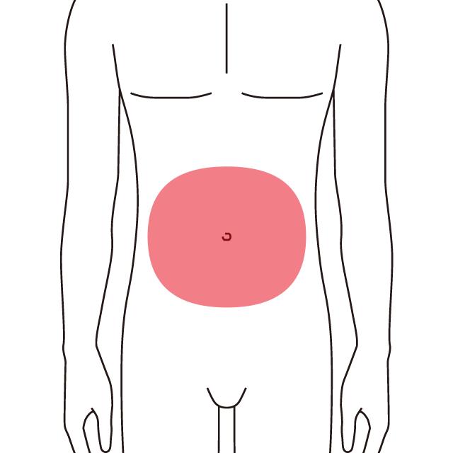 腹周りの施術