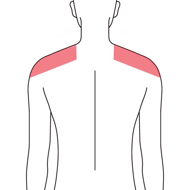 両肩の施術