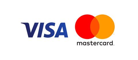 VISA/masterカードがご利用いただけます