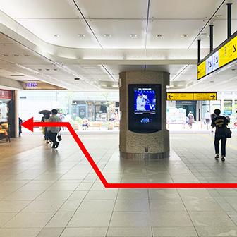 恵比寿駅西口改札