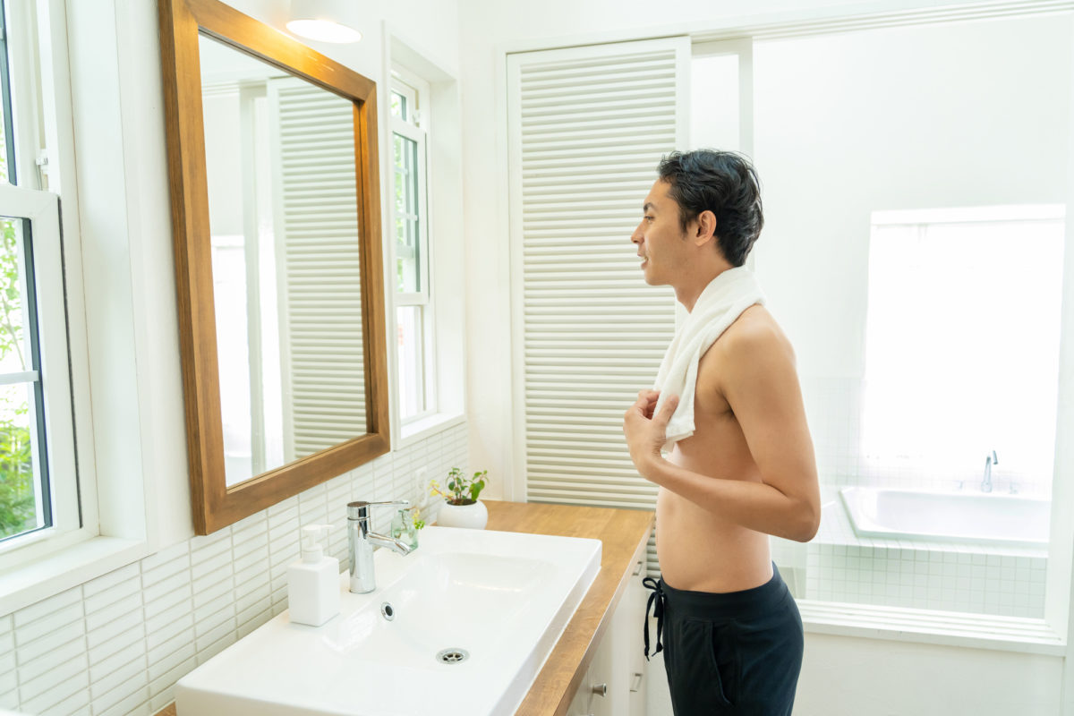男性の体毛