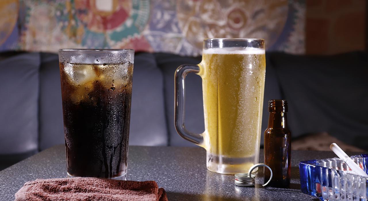 カフェインアルコール摂取を控えましょう