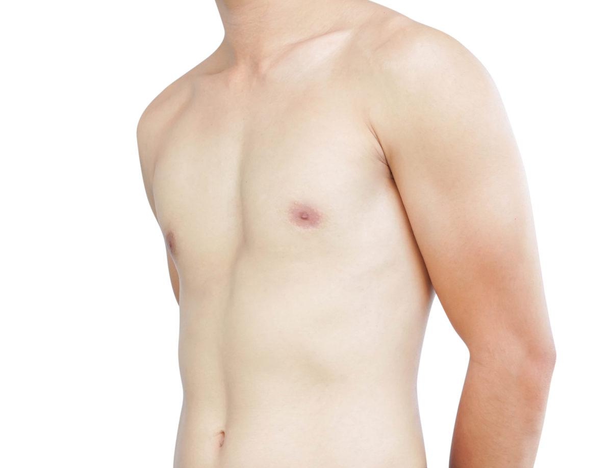 乳首のムダ毛
